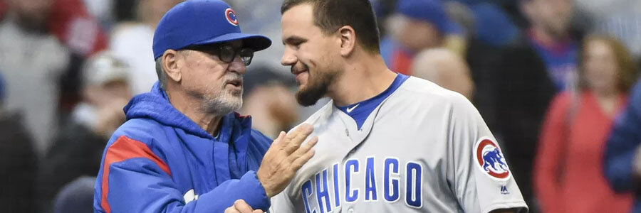 The Cubs are huge favorites at the MLB Odds for Tuesday Night.