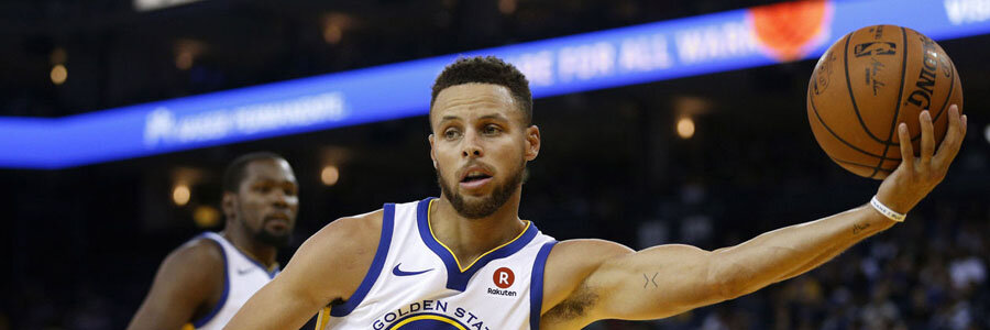 Steph Curry and the Warriors return home with the NBA Odds by their side.