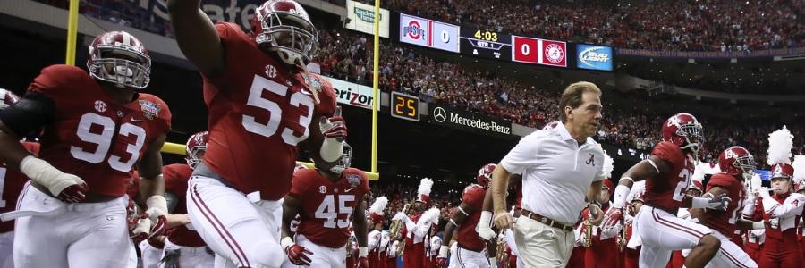 DEC 14 - Week 17 College Football Predictions Alabama Vs Washington