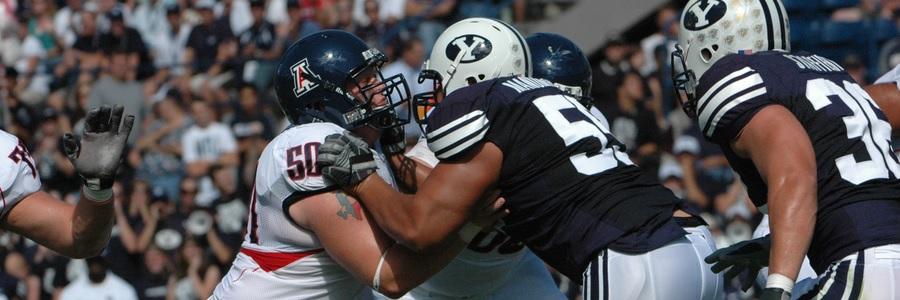 DEC 20 - Week 18 College Football Betting Odds BYU Vs Wyoming