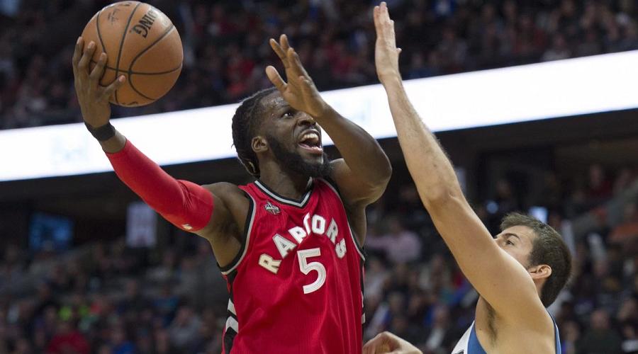 DeMarre Carroll Toronto Raptors
