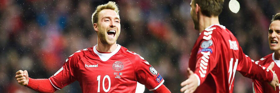 Denmark is slight favorite at the World Cup Playoffs Betting Odds.