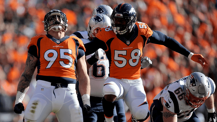 The Broncos defense have Cam Newton and the Panthers offense on eye sight.