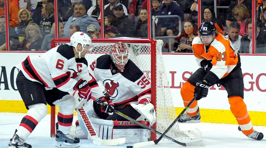 Devils vs Flyers