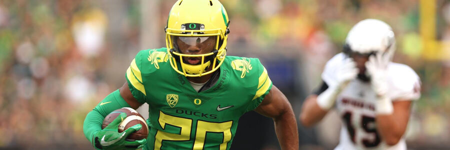 The Ducks are favorites against Stanford in NCAA Football Week 4.