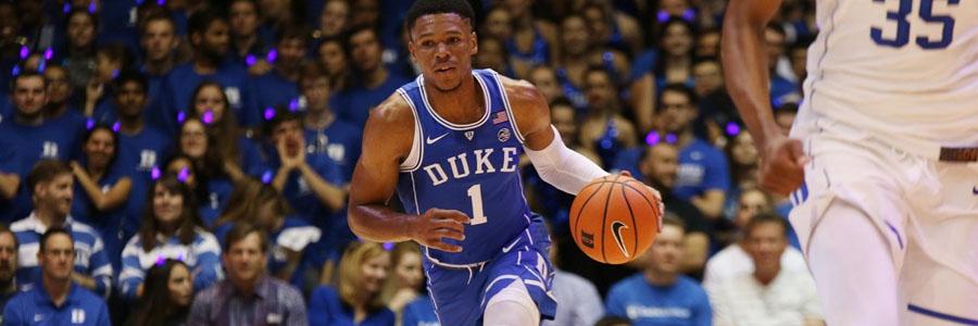 Yale vs Duke NCAA Basketball Spread, Preview & Pick.
