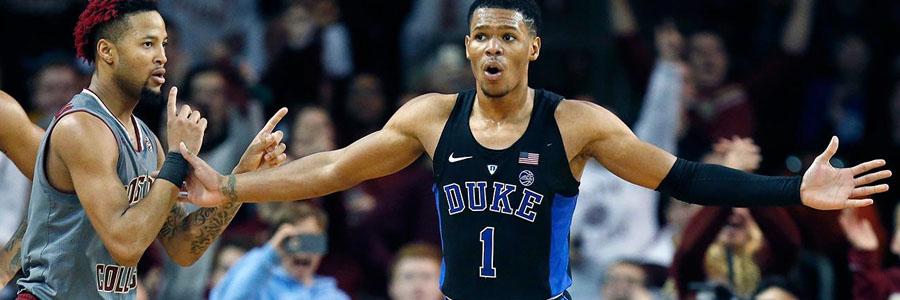Duke at Louisville NCAA Basketball Odds & Prediction.