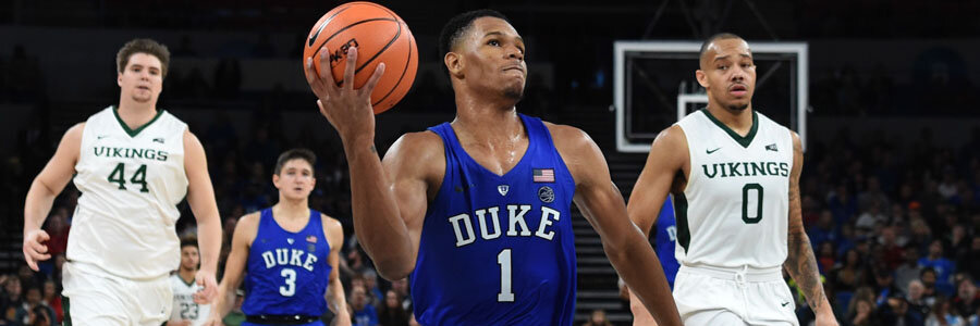 As usual, Duke should be the favorite at the College Basketball Betting Odds against Evansville.