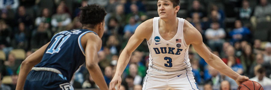 Duke is the favorite to win at the 2018 March Madness Sweet 16, but not to cover the spread.
