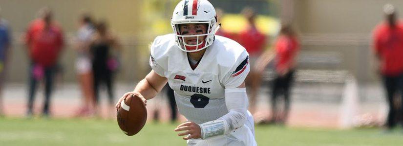 Duquesne vs UMass NCAA Football Betting Preview & Pick.