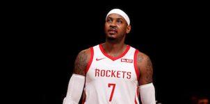 ESPN: Houston Rockets trade Carmelo Anthony to Chicago Bulls