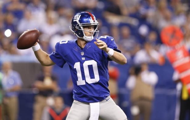 Eli Manning 2015 Giants