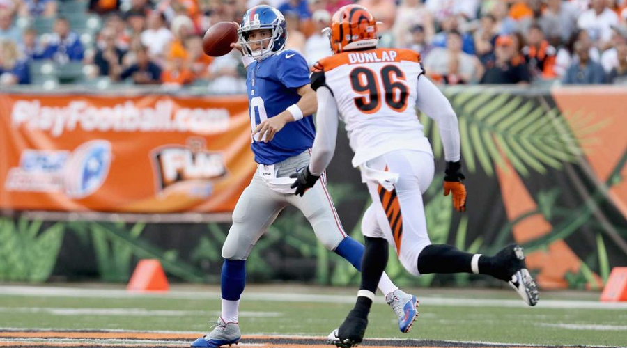 Eli Manning vs Bengals