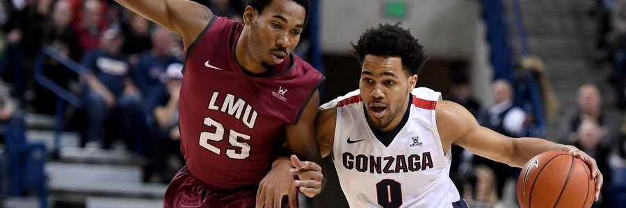 FEB 10 - Gonzaga At St. Mary's Odds, Free Pick & TV Info