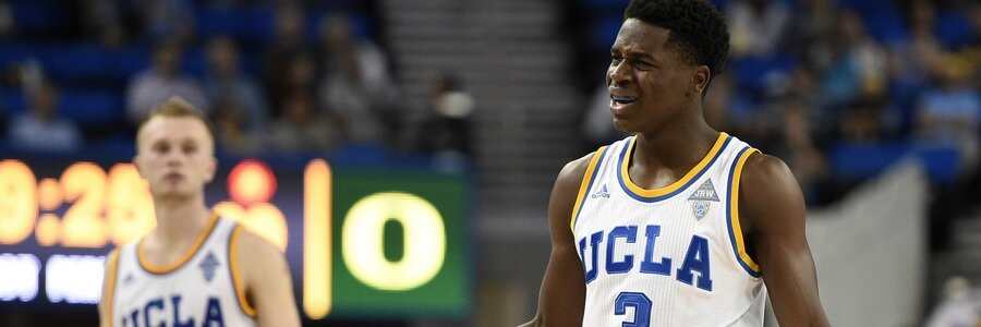 FEB 24 - UCLA At Arizona Spread, Free Pick & TV Info
