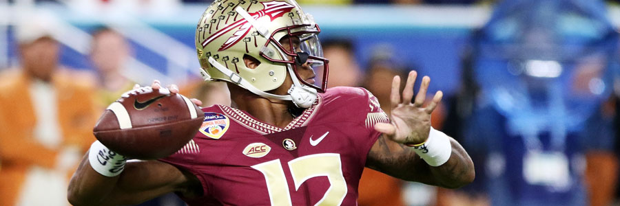 Florida State looks like a solid contender at the NCAAF Betting Odds for the 2019 Championship.