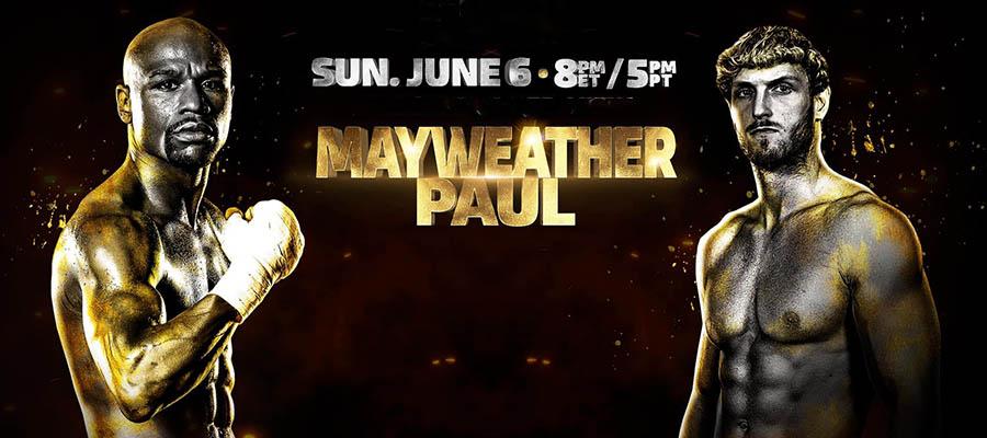 Floyd Mayweather Jr. vs Logan Paul Boxing Props Betting Update