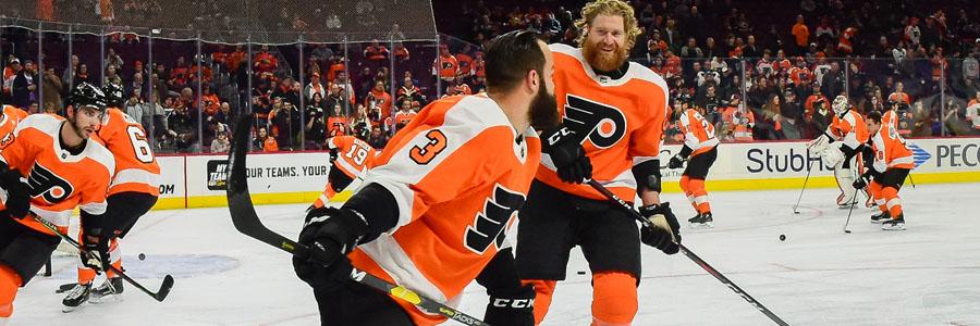 Capitals vs Flyers looks like a close one.