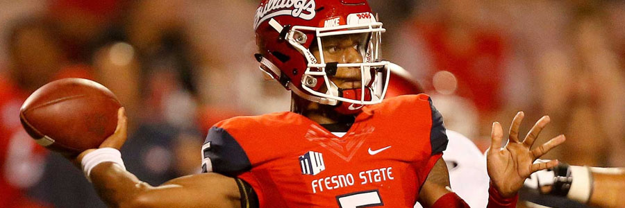 Fresno State comes in as the 2017 Hawaii Bowl Odds underdog.