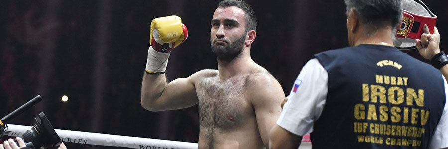Murat Gassiev should be one of your Boxing Betting picks of the week.
