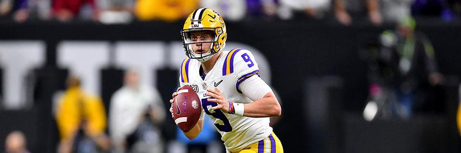 Georgia, LSU, Ohio St 2020 NFL Draft Odds