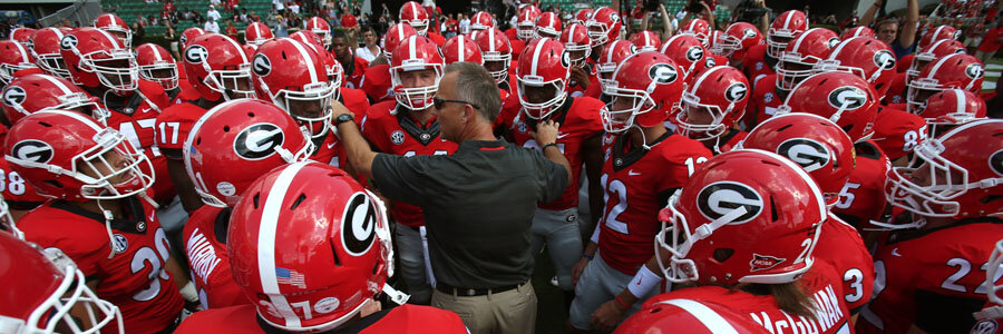 The Bulldogs are not the betting favorites to win the 2018 National Championship.