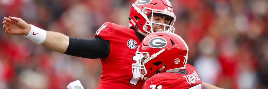 Georgia vs Vanderbilt 2019 College Football Week 1 Odds & Game Preview.