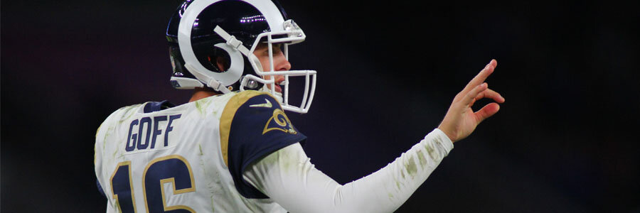 Jared Goff and the Rams can easily become the NFL Betting favorites to win the NFC.