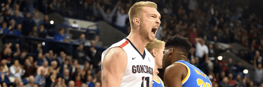 San Diego at Gonzaga Odds, Free Pick & TV Info