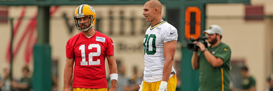 Titans vs Packers will be Jimmy Graham's debut with Green Bay.