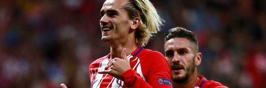 Soccer Odds for Atletico Madrid vs. Barcelona 'Clash of the Titans'.