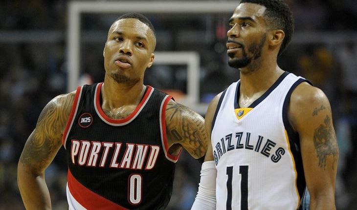 Grizzlies vs Blazers NBA Playoffs 2015