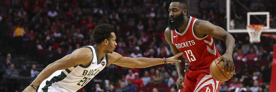 Bucks vs Rockets NBA Spread & Pick for Wednesday Night