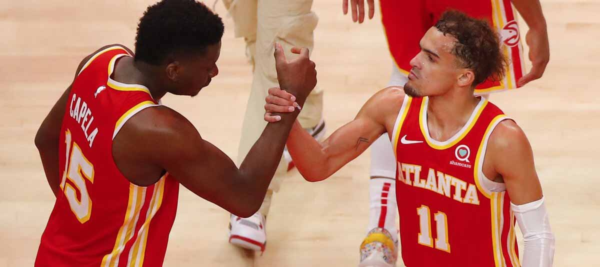 Hawks vs 76ers Game 2