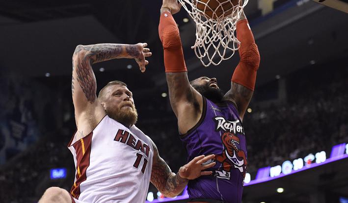 Heat vs Raptors NBA