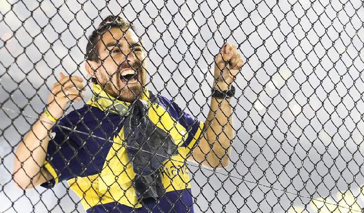Hincha Boca Juniors