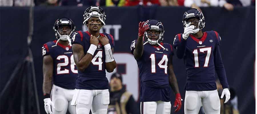 Houston Texans Favored on NFL