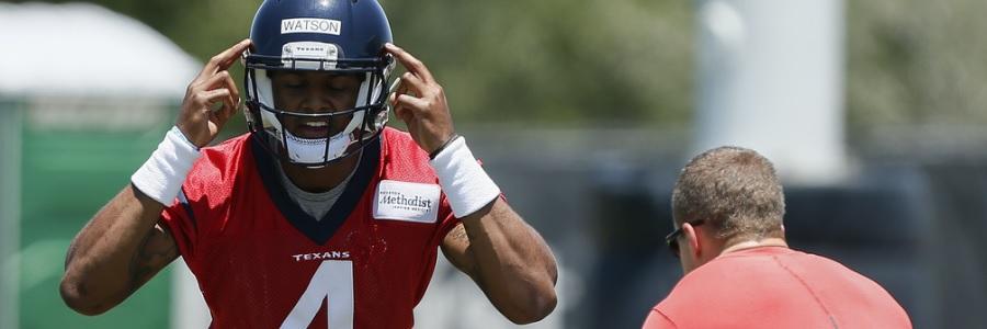 Houston at Carolina NFL Week 1 Preseason Odds