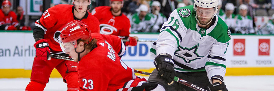 Hurricanes vs Stars 2020 NHL Betting Lines & Game Preview