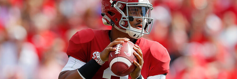 Jalen Hurts and the Sooners are the NCAA Football Betting favorites to win the Big 12.