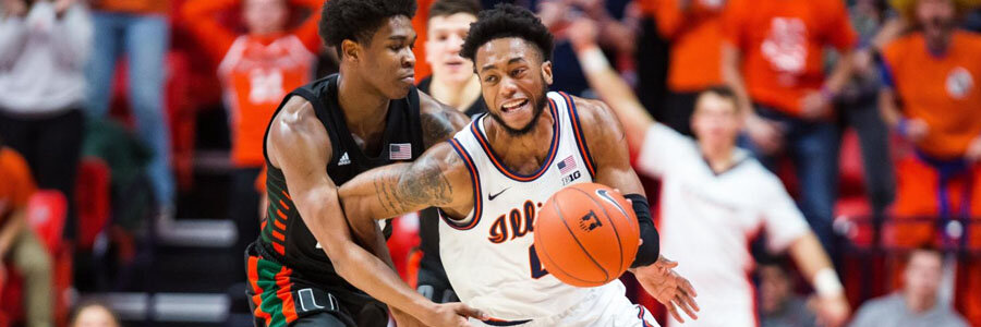 The Illini shouldn't be one of your College Basketball betting picks of the week.
