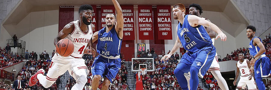 Indiana will be no favorite at the NCAAB Betting Odds for this week, but an upset is possible.