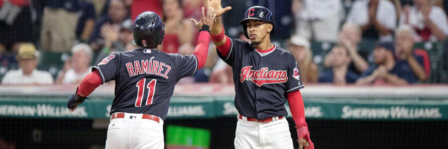 The Indians should be one of your MLB Betting picks of the week.
