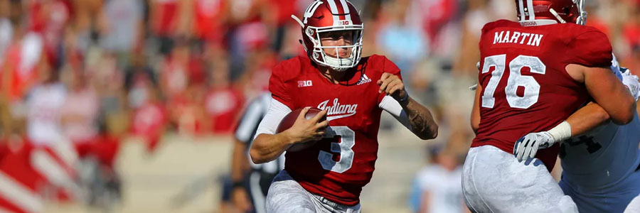 The Hoosiers are not College Football Betting favorites for Week 7.