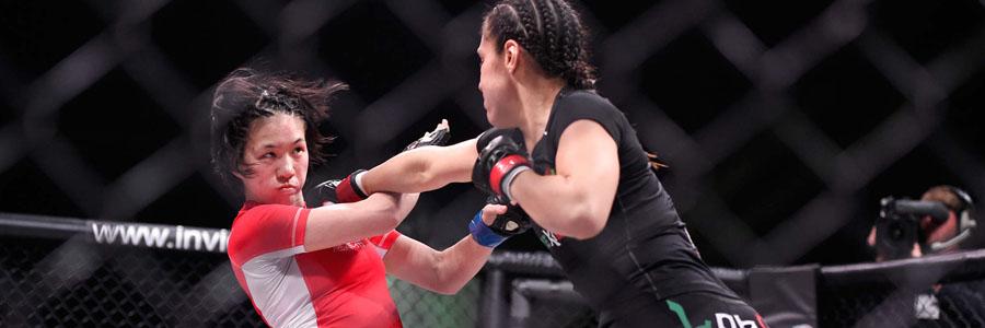 Mizuki Inoue is not the MMA Betting favorite to beat Virna Jandiroba.