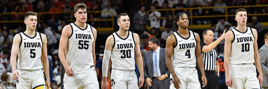 Iowa vs Indiana 2020 College Basketball Betting Lines & Game Preview