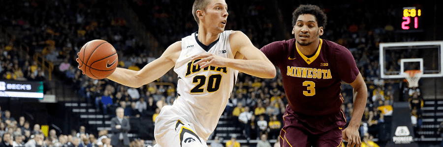 Iowa has been in a recent bad basketball streak.
