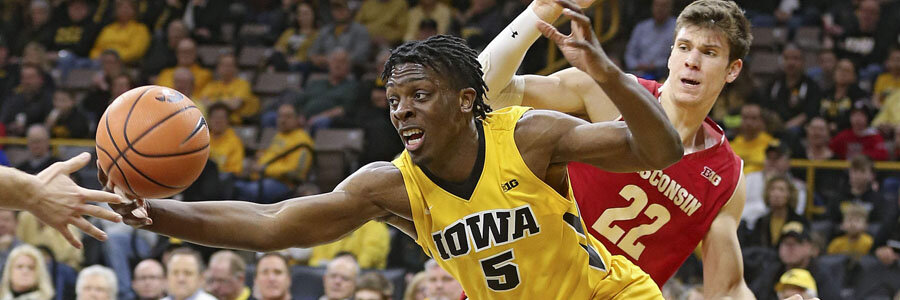 Iowa vs Maryland 2020 College Basketball Betting Lines & Analysis.