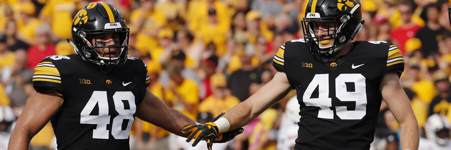 Iowa is one of the favorites at the 2018 NCAA Football Week 2 Odds.