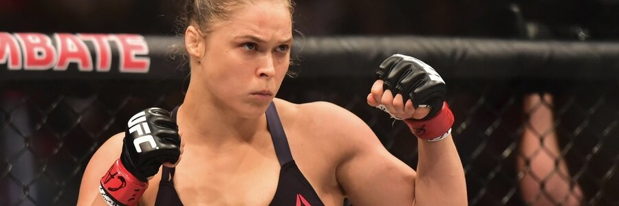 JAN 05 - MMA Futures Odds Betting Will Ronda Rousey Ever Get Rowdy Again